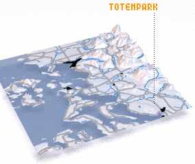 3d view of Totem Park