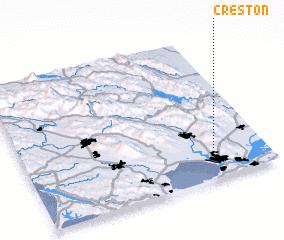 3d view of Creston
