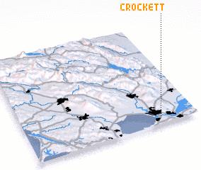 3d view of Crockett