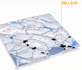 3d view of Vallejo