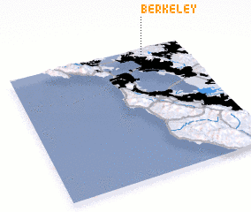 3d view of Berkeley