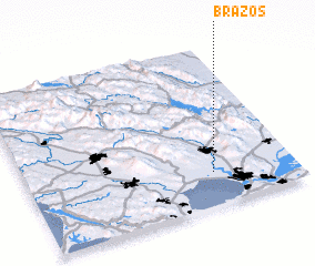 3d view of Brazos