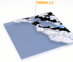 3d view of Tara Hills