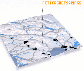3d view of Fetters Hot Springs