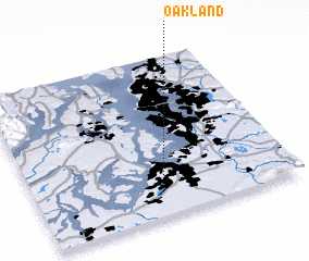 3d view of Oakland