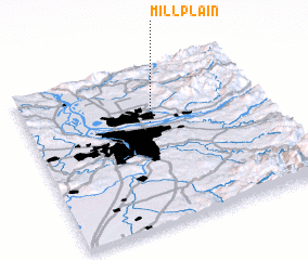 3d view of Mill Plain