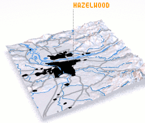 3d view of Hazelwood