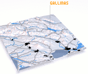 3d view of Gallinas