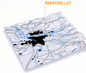 3d view of Happy Valley