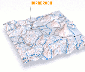 3d view of Hornbrook