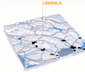 3d view of Lawndale
