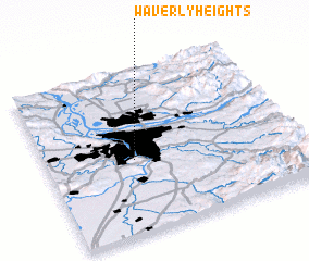 3d view of Waverly Heights