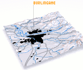 3d view of Burlingame