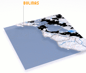 3d view of Bolinas