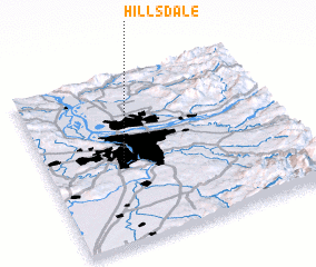 3d view of Hillsdale