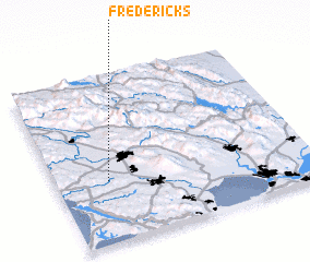 3d view of Fredericks