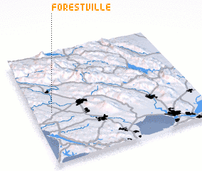 3d view of Forestville