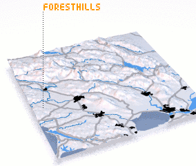 3d view of Forest Hills