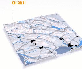 3d view of Chianti