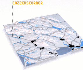 3d view of Cozzens Corner