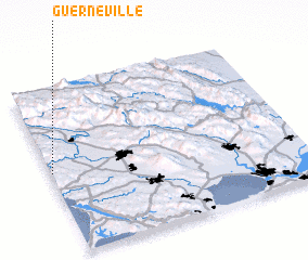 3d view of Guerneville