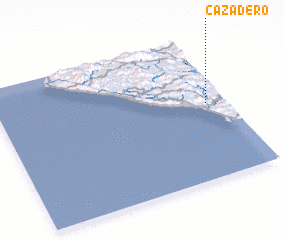 3d view of Cazadero