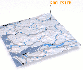 3d view of Rochester