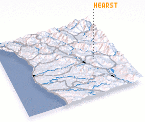 3d view of Hearst