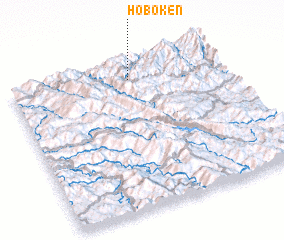 3d view of Hoboken
