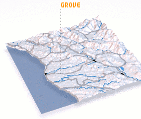 3d view of Grove