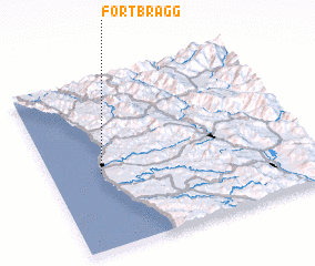 3d view of Fort Bragg