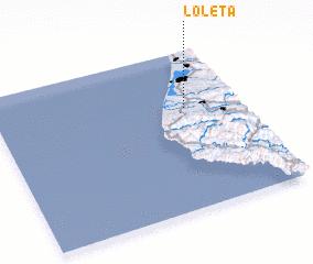 3d view of Loleta