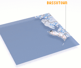 3d view of Bassu Town