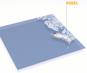 3d view of Rokel