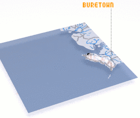 3d view of Bure Town