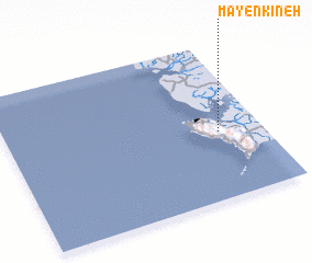 3d view of Mayenkineh