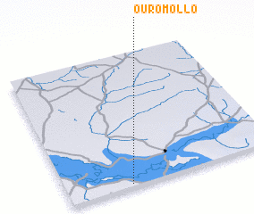 3d view of Ouro Mollo