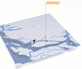3d view of Juneau