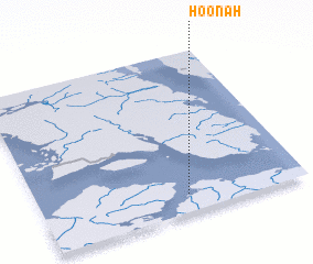 3d view of Hoonah