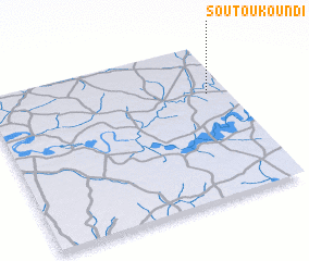 3d view of Soutoukoundi