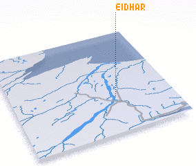 3d view of Eiðar