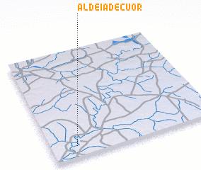 3d view of Aldeia de Cuor