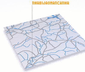 3d view of Nhabijão Mancanha