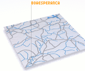 3d view of Boa Esperança
