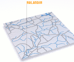 3d view of Malandim