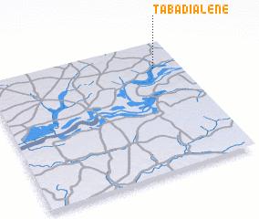 3d view of Tabadialène