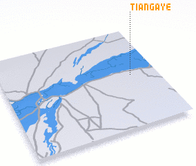 3d view of Tiangaye