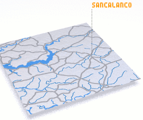 3d view of Sancalancó
