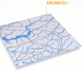 3d view of Sinchã Coli
