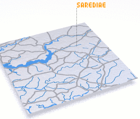 3d view of Saré Diaé